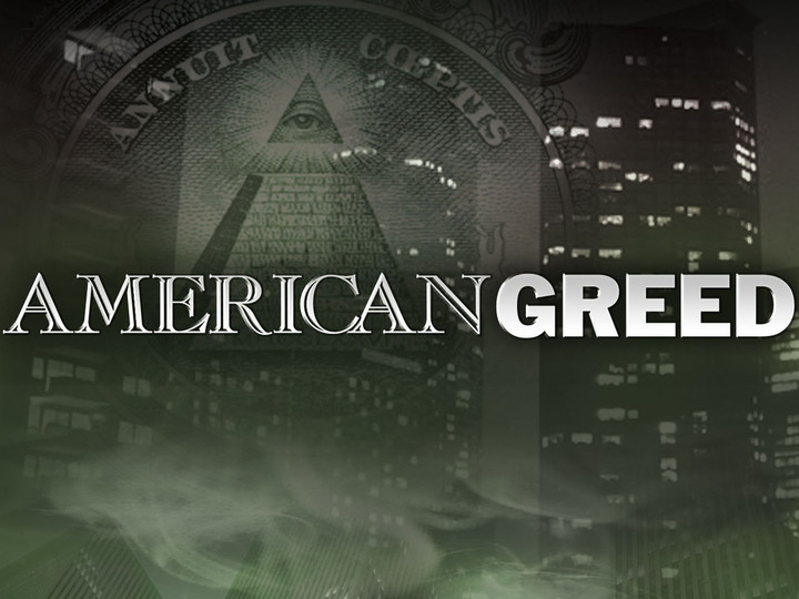 AMERICAN GREED: logo CNBC © 2008 NBC Universal, Inc.