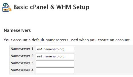Basic cPanel & WHM Setup
