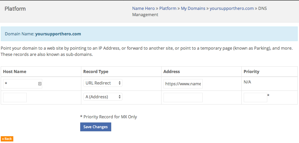 How To Forward A Domain To Another Domain - Knowledgebase