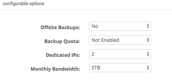 Set Configurable Options