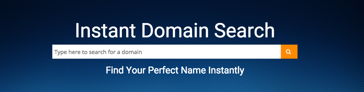 Search For Your Domain Name Instantly