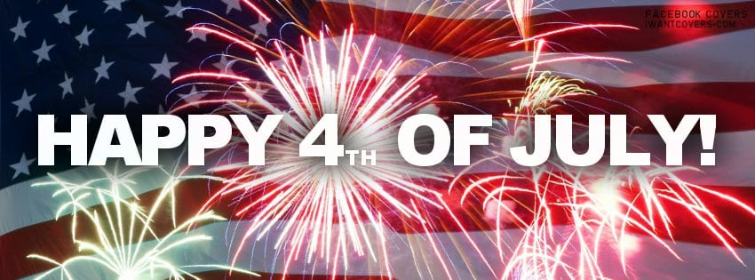 Happy July 4th!  Celebrate With $4 .com, .net, .org Registrations (First 125 Customers)
