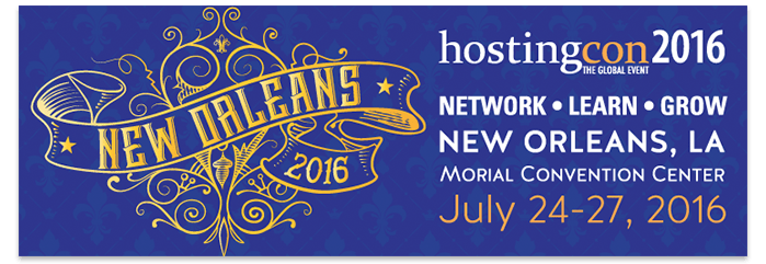 HostingCon 2016 New Orleans – See You There?