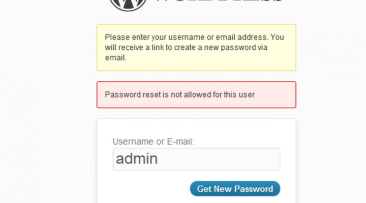 How To Reset Your WordPress Admin Password
