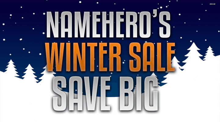 New Year, New Host – Our Winter Sale Is Now Live!