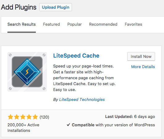 How To Install LiteSpeed Cache For WordPress