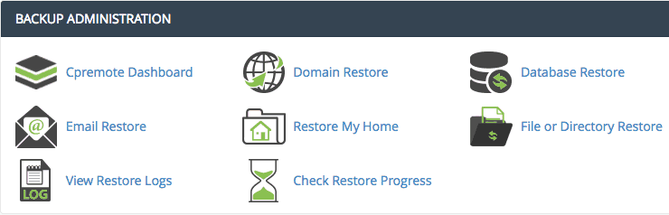 How To Restore WordPress Backups Inside cPanel - Knowledgebase