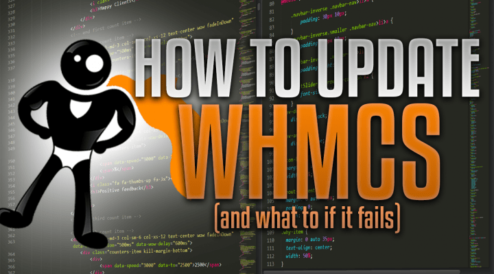 How To Update WHMCS And What To Do If It Fails
