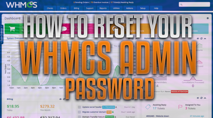How To Reset Your WHMCS Admin Password