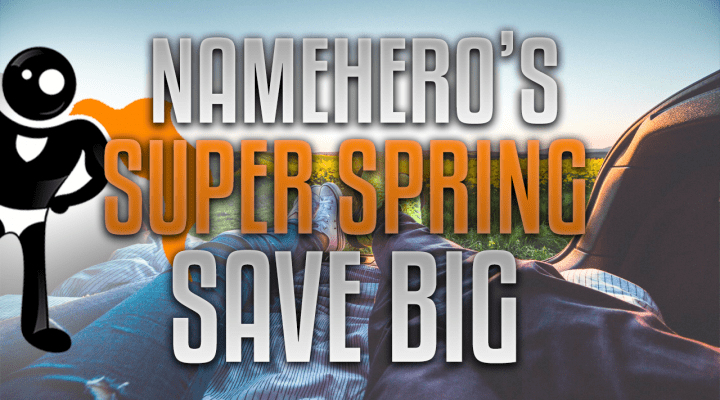 Spring Has Sprung And Our Super Sale Is Now Live!