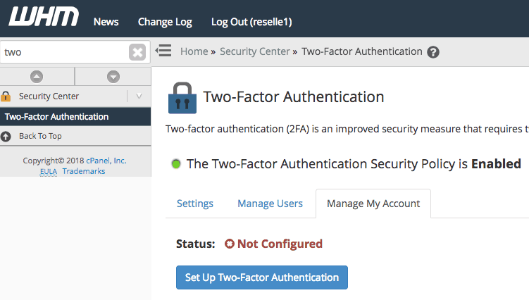 How To Enable Two-Factor Authentication - Knowledgebase