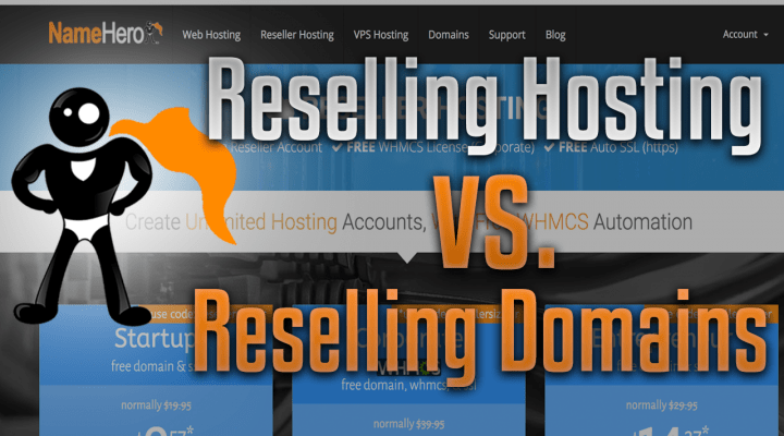 What Is The Difference Between Reselling Web Hosting & Reselling Domains?