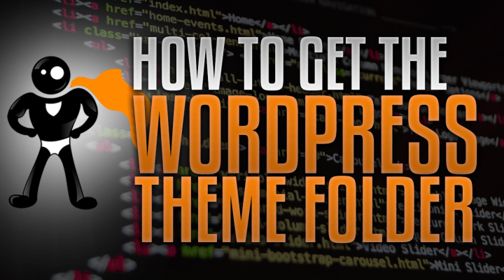 How To Get The WordPress Theme Folder Without FTP Access