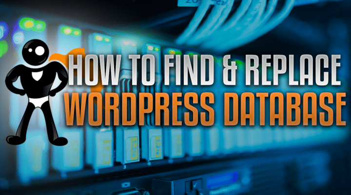 How To Find And Replace Text In The WordPress Database