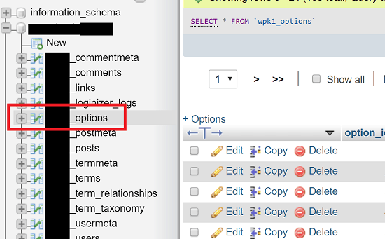 wordpress how to change database connection
