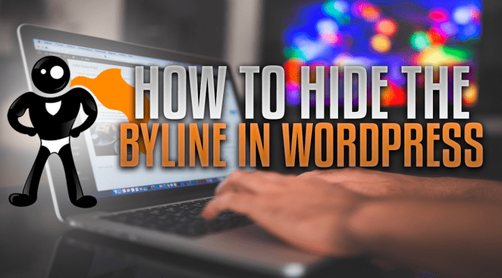 How To Hide The Byline In WordPress For All Themes