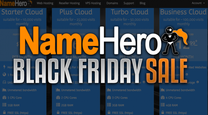 NameHero Black Friday Sale