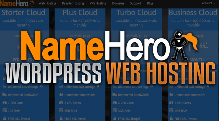 Popular YouTuber Ranks NameHero Amongst Top 3 In WordPress Web Hosting Industry