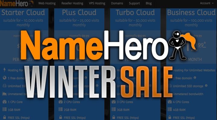 Name Hero Winter Sale