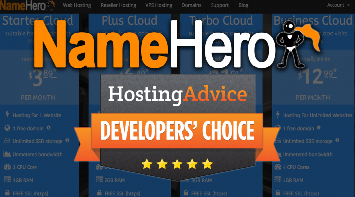 NameHero Developer Choice Award