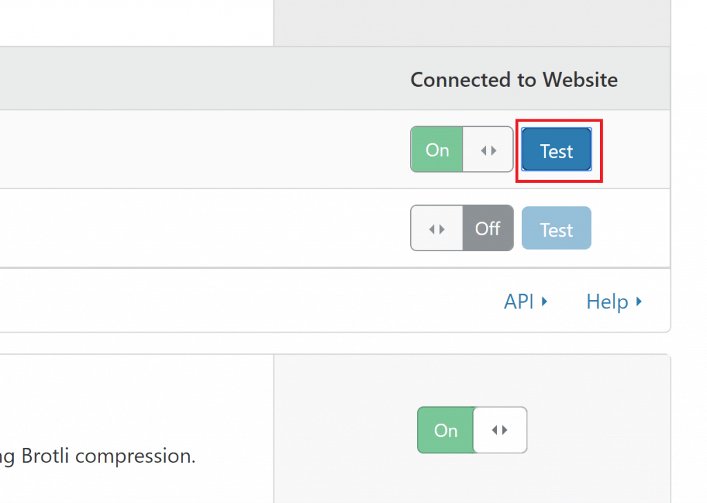Speed tab in Cloudflare