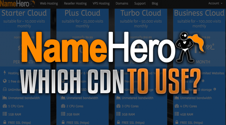 Which CDN To Use with NameHero Hosting