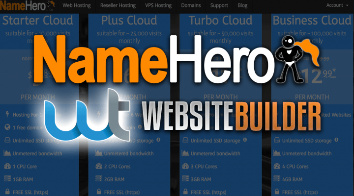 NameHero WebsiteTitan Page Builder