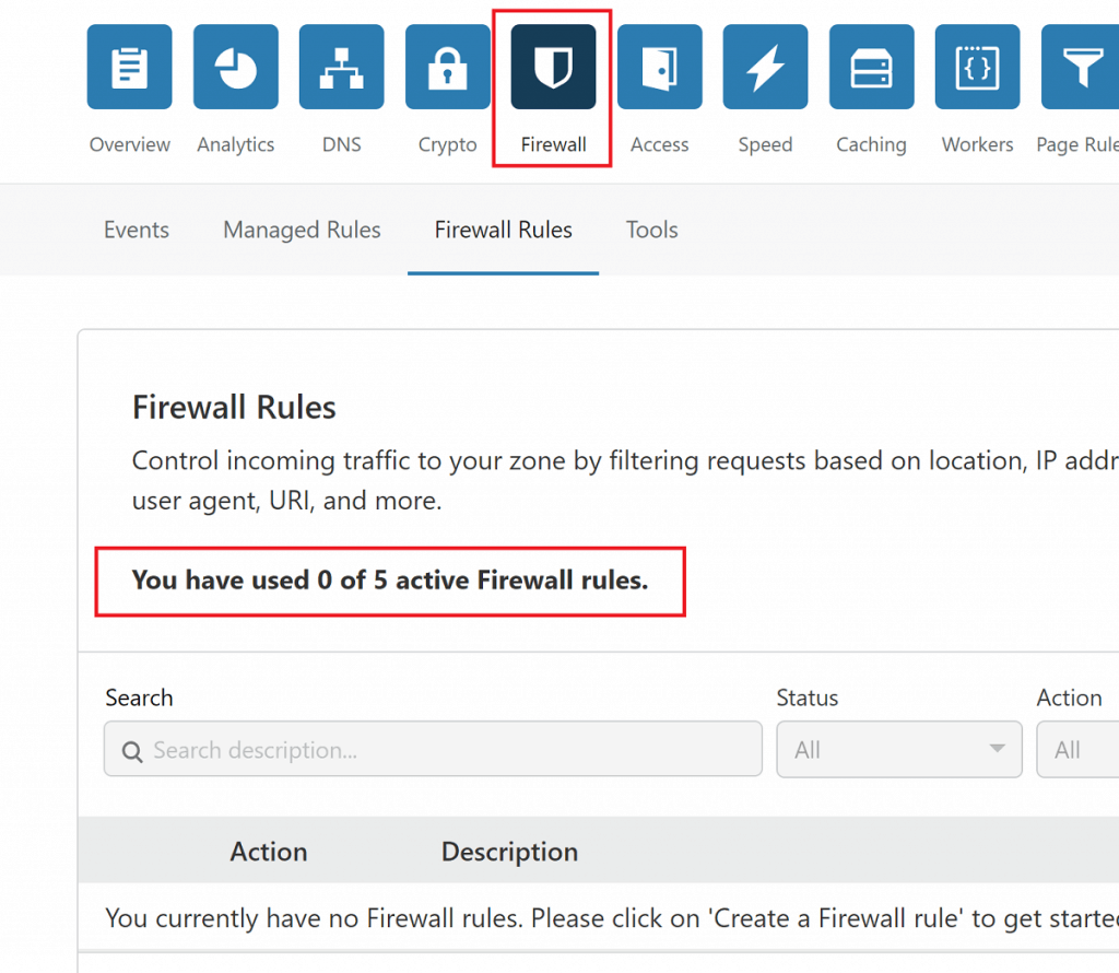 Cloudflare Firewall Rules