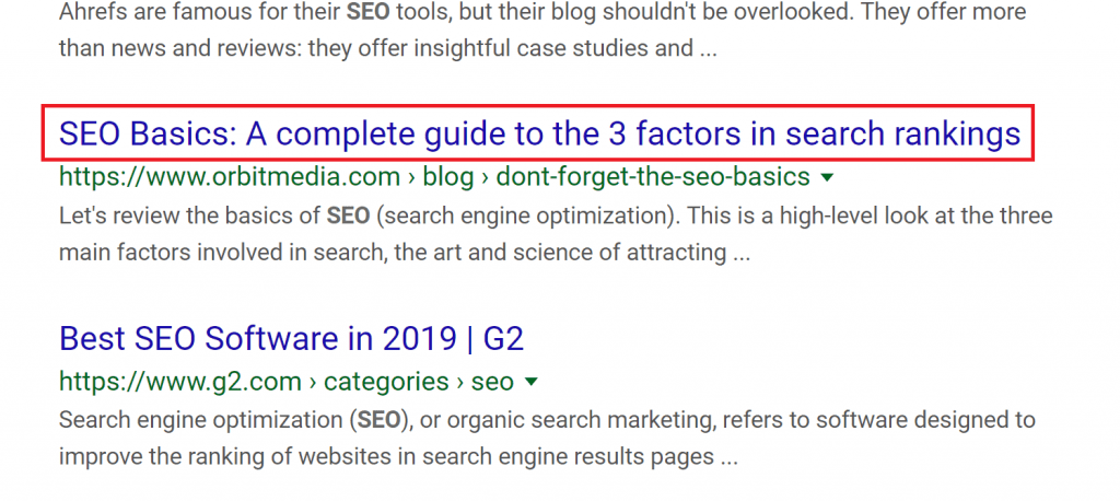 Title without Site Branding